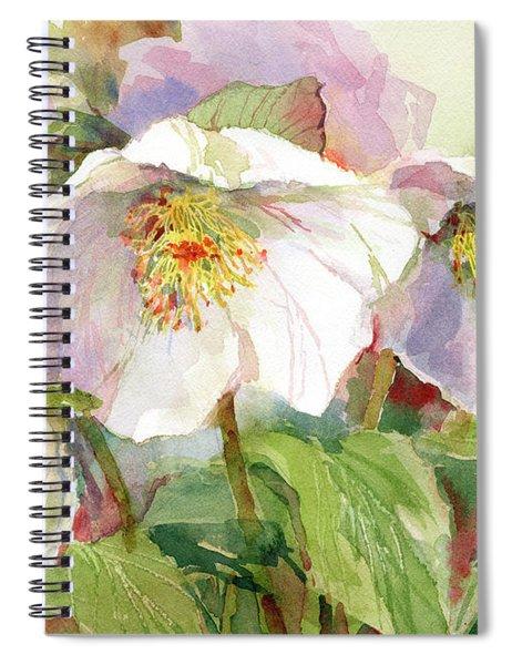 Hellebore Spiral Notebook