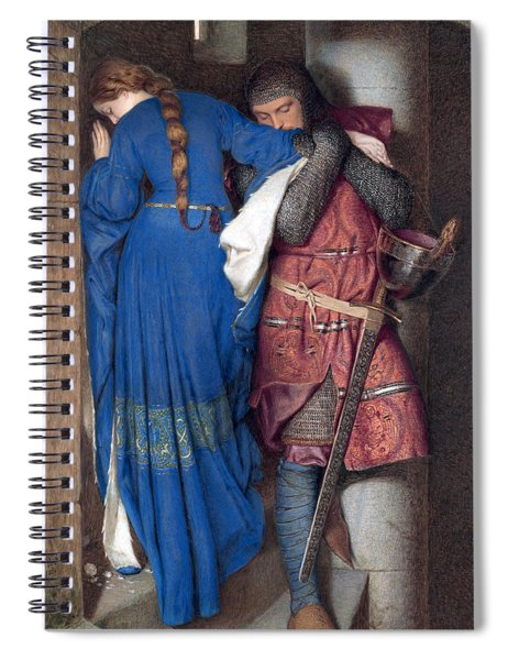 Hellelil And Hildebrand Or The Meeting On The Turret Stairs Spiral Notebook