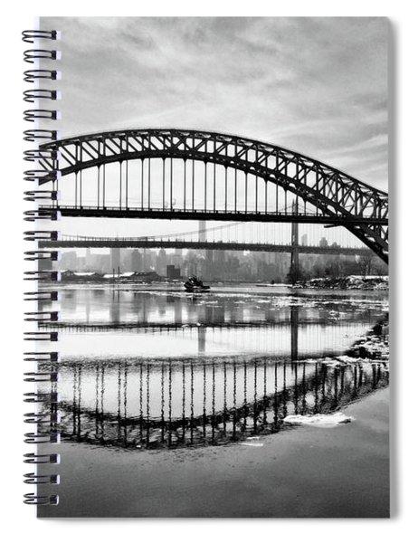 Hellgate Full Reflection Spiral Notebook