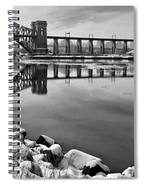 Hellgate Half Reflection Spiral Notebook