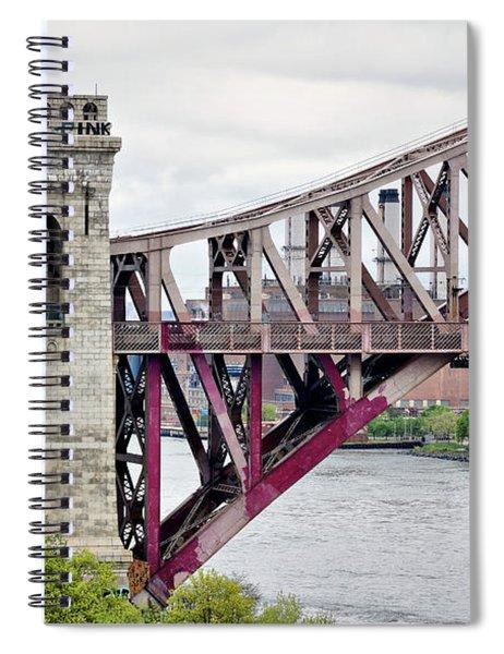 Hellgate In Grey Spiral Notebook