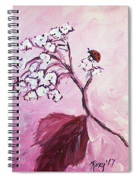 Hello Ladybug Spiral Notebook