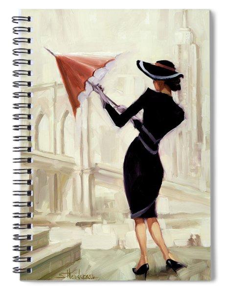Hello New York Spiral Notebook