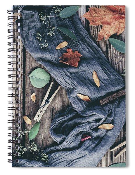 Hello November Spiral Notebook
