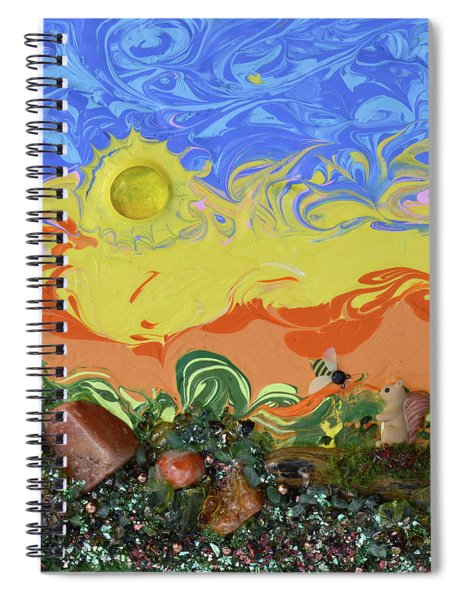 Hello Squirrel  Spiral Notebook