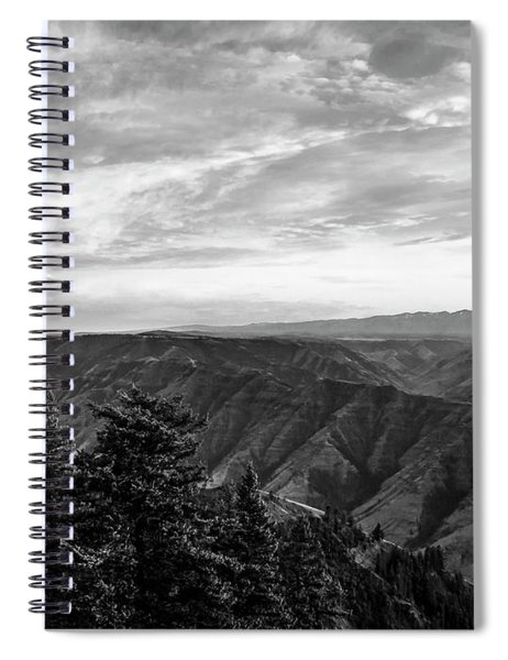 Hells Canyon Drama Spiral Notebook