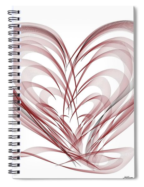 Help For The Healing Hearts Spiral Notebook