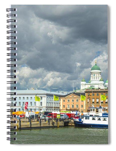 Helsinki, South Harbor Spiral Notebook