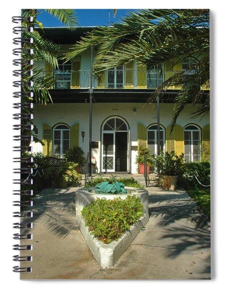 Hemingways House Key West Spiral Notebook