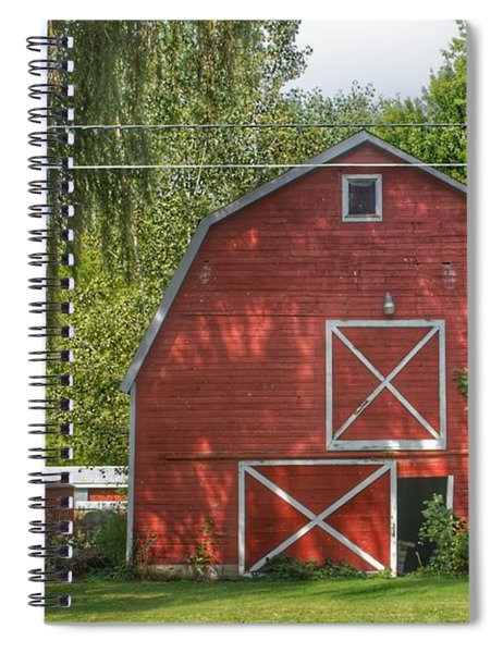 0018 - Henderson Road Red I Spiral Notebook