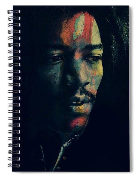 Hendrix  Spiral Notebook