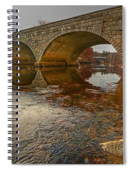 Henniker Village Bridge Spiral Notebook