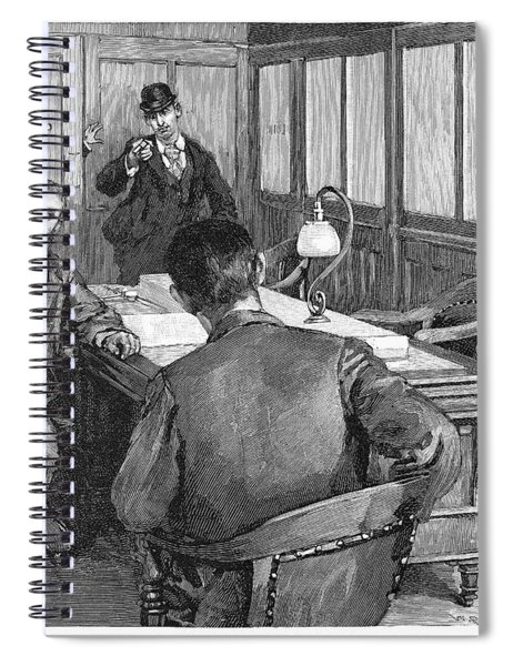 Henry Clay Frick  (1849-1919) Spiral Notebook