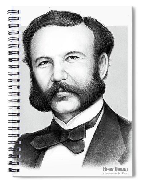 Henry Dunant Spiral Notebook