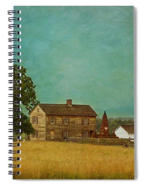 Henry House At Manassas Battlefield Park Spiral Notebook