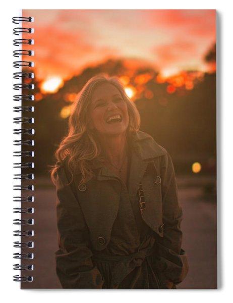 Her Laugh Spiral Notebook