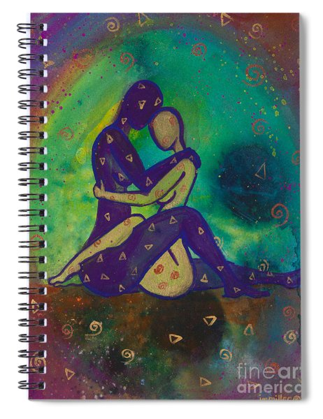 Her Loves Embrace Divine Love Series No. 1006 Spiral Notebook