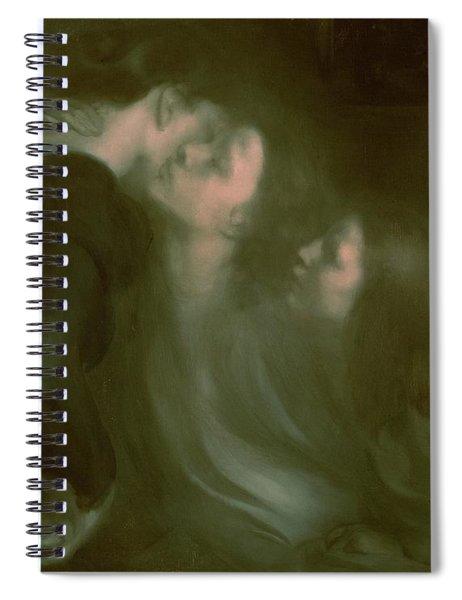 Her Mother's Kiss Spiral Notebook