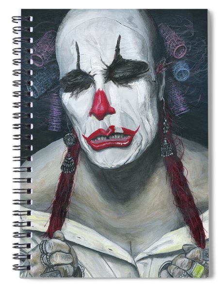 Her Tears Spiral Notebook
