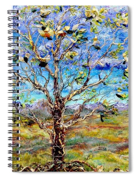 Herald Spiral Notebook