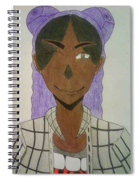 Here Is My Other Drawing. This Is A Spiral Notebook