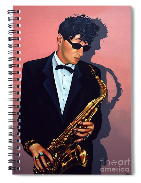 Herman Brood Spiral Notebook