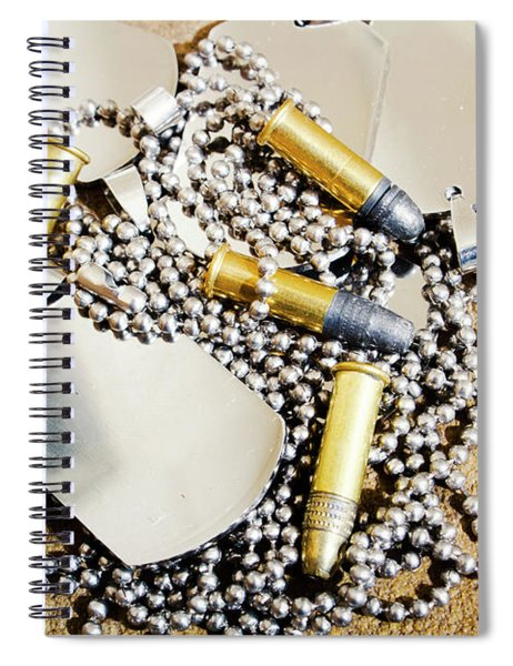 Heroes Of Service Spiral Notebook