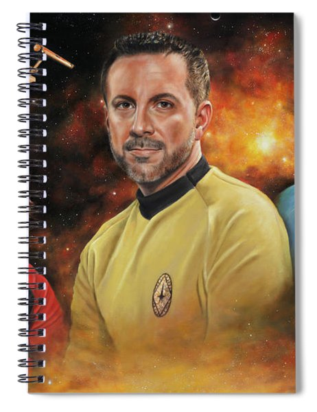 Heroes Of The Farragut Spiral Notebook