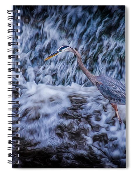 Heron Falls Spiral Notebook