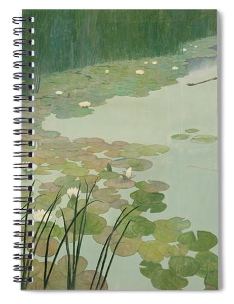 Herons In Summer Spiral Notebook