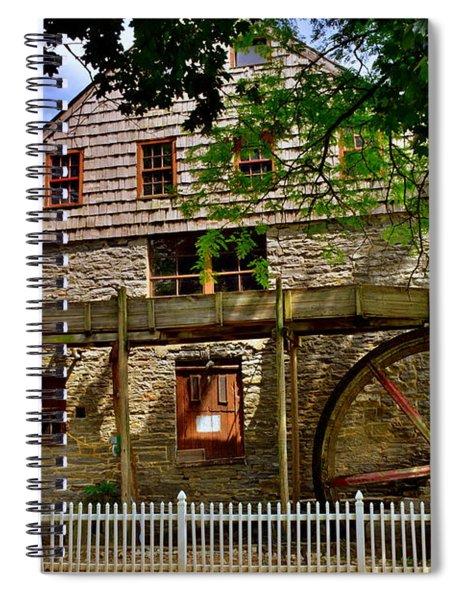 Herr's Grist Mill Spiral Notebook