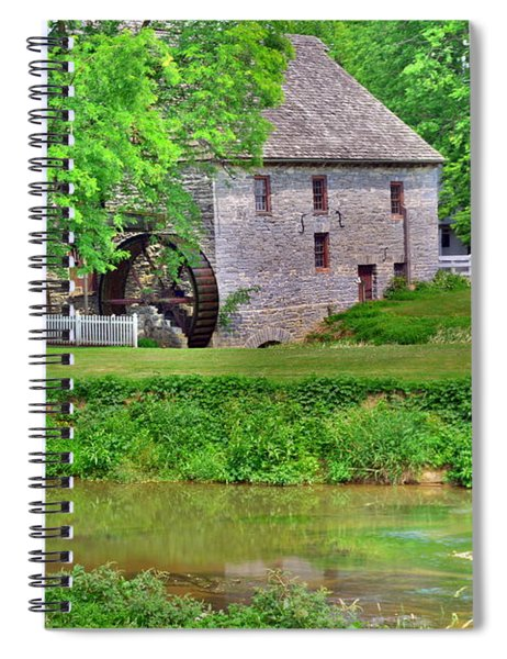 Herr's Mill Village Spiral Notebook
