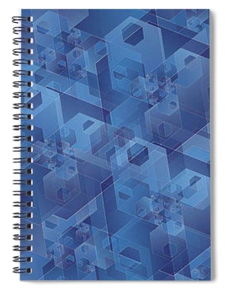 Hexentricity 1 Spiral Notebook