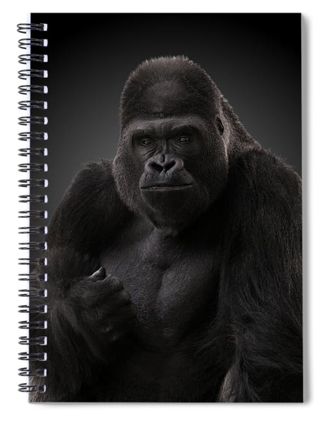 Hey There - Gorilla Spiral Notebook