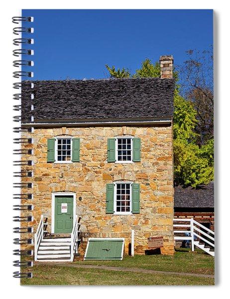 Hezekiah Alexander Homesite Spiral Notebook