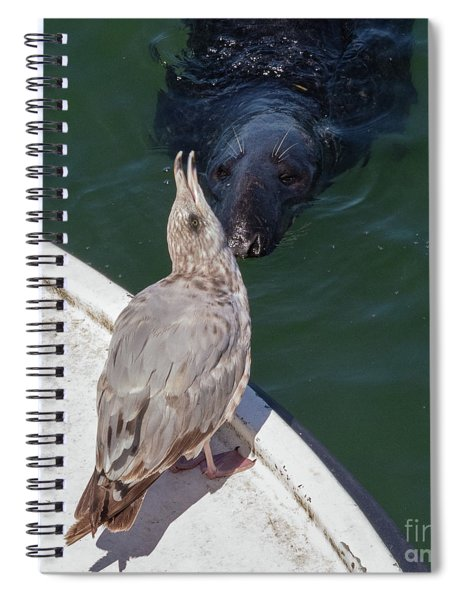 Hi There Spiral Notebook