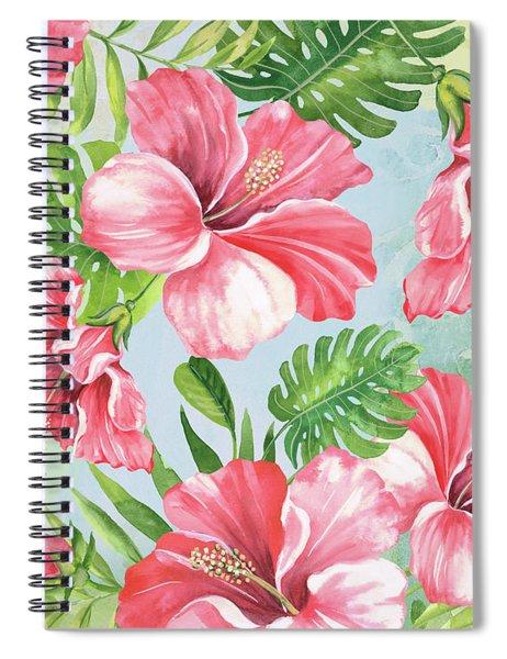 Hibiscus Paradise-jp3966 Spiral Notebook