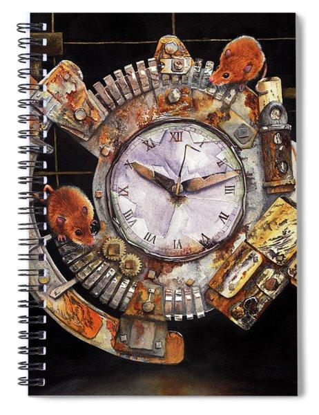 Hickory Dickory Dock Spiral Notebook