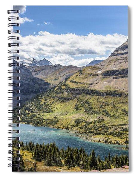 Hidden Lake Overlook Spiral Notebook