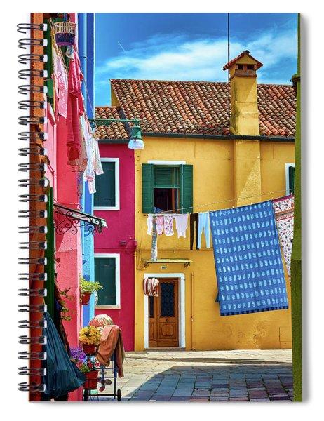 Hidden Magical Alley Spiral Notebook