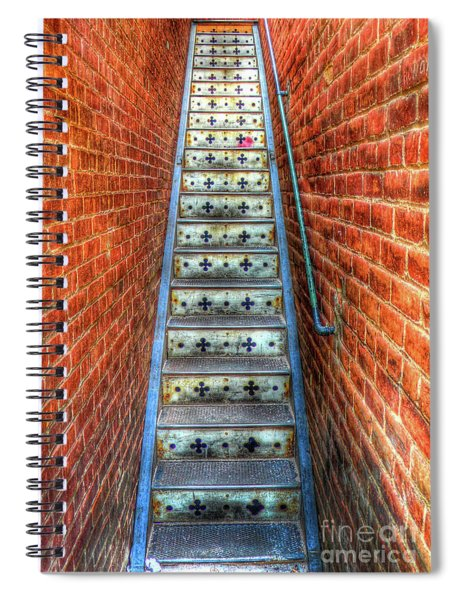 Hidden Stairway In Old Bisbee Arizona Spiral Notebook