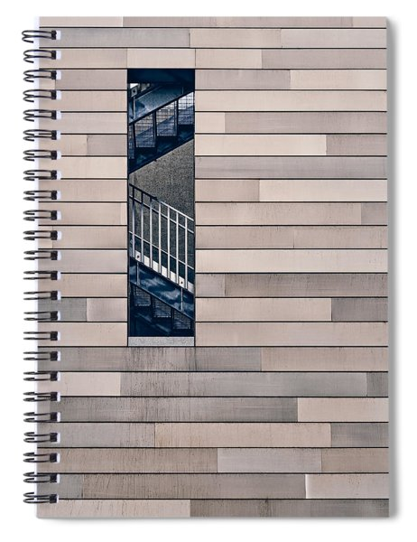 Hidden Stairway Spiral Notebook by Scott Norris