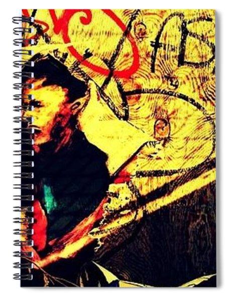 Hidden Stranger Spiral Notebook