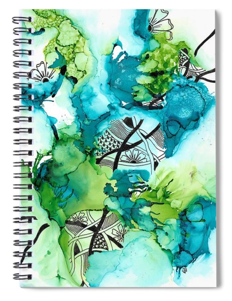 Hidden Treasure Spiral Notebook