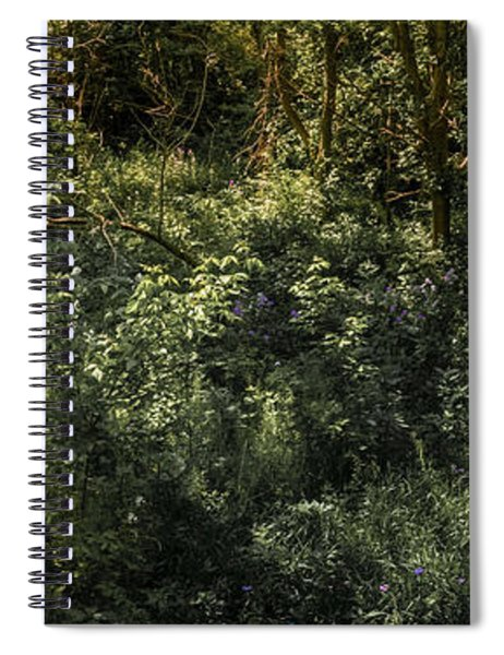 Hidden Wildflowers Spiral Notebook