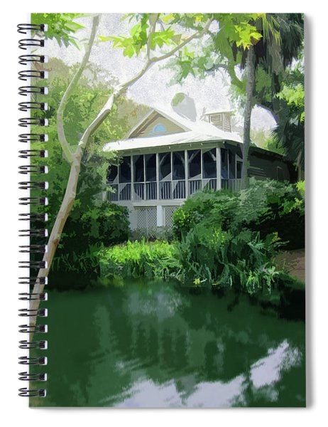 Hideaway Spiral Notebook by Gina Harrison