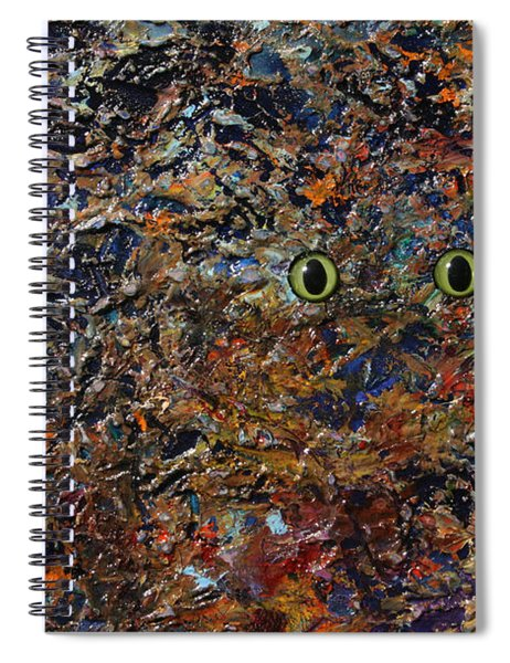 Hiding Spiral Notebook