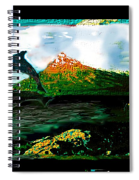 Hiding Your Love Spiral Notebook
