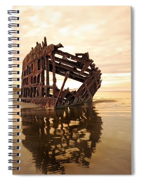 High And Dry, The Peter Iredale Spiral Notebook