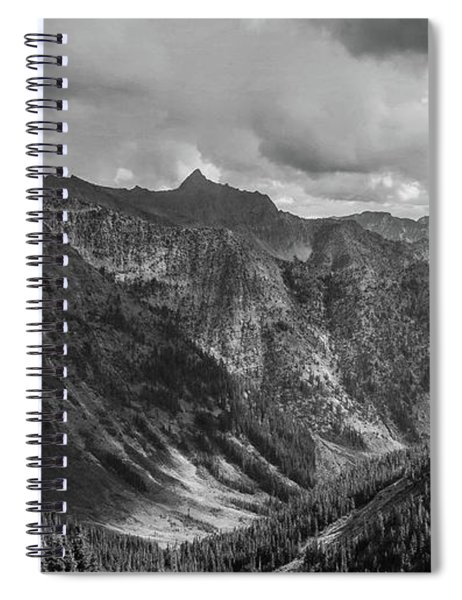 High Country Valley Spiral Notebook